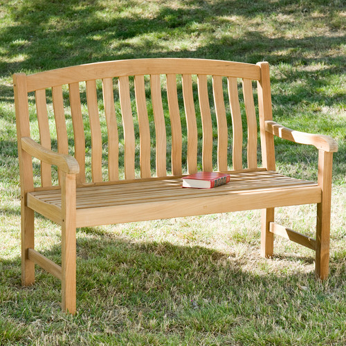 Wildon Home  Teak Garden Bench