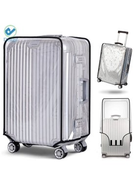 """Deago Luggage Protector Suitcase Cover PVC Bag Baggage Water Dust Proof Travel Fits Most Suitcase 20"""" to 28""""(22inch)"""