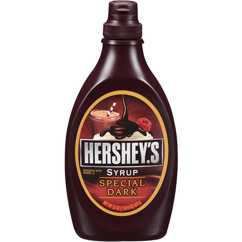 Hershey's Rich Chocolate Special Dark Syrup, 22 Oz
