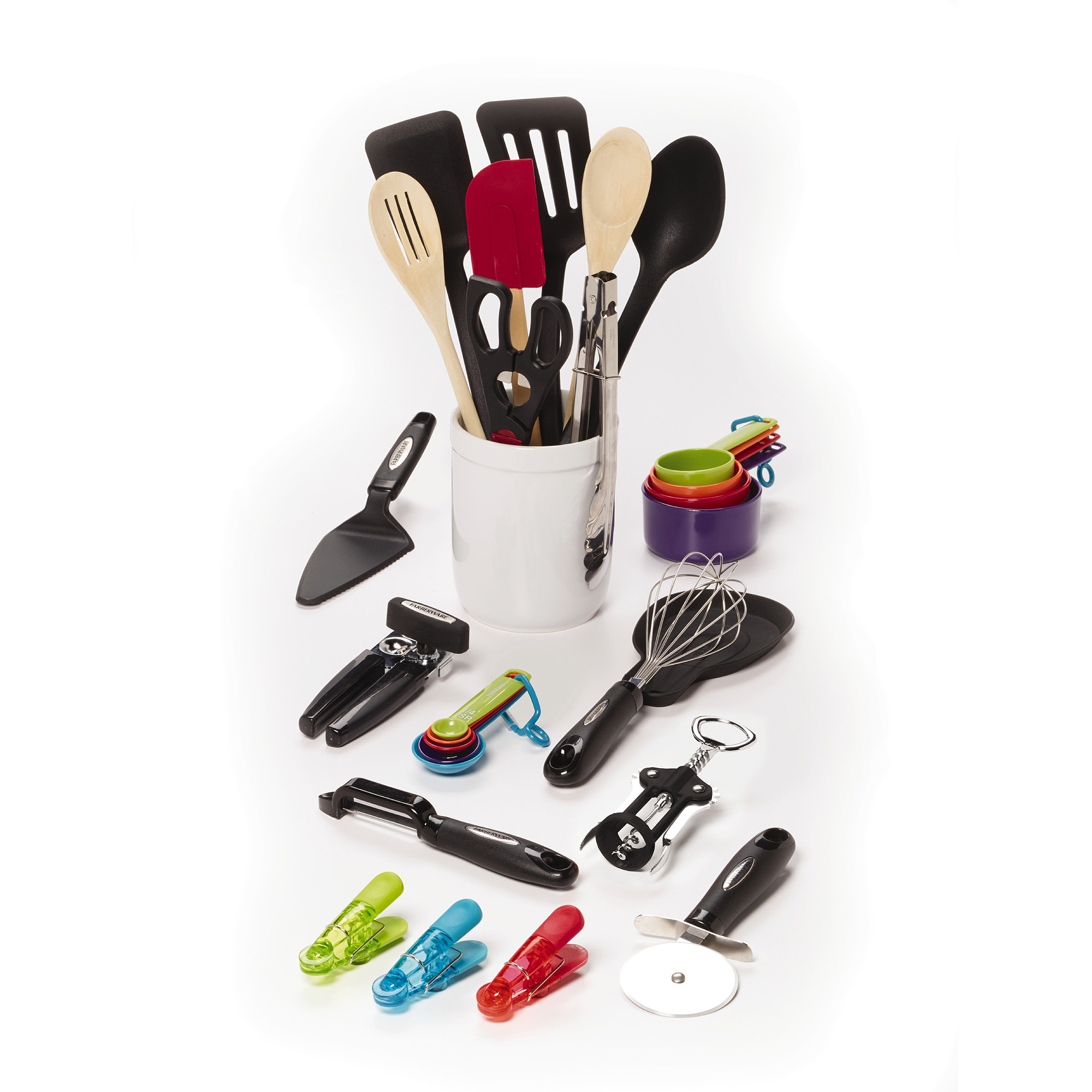 Farberware Kitchen Utensil & Gadget Set, 28 Piece
