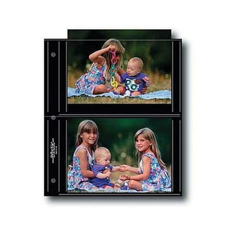 Print File BLK57-4S, Archival S-Series Album Pages, 9-1/4x10-15/16