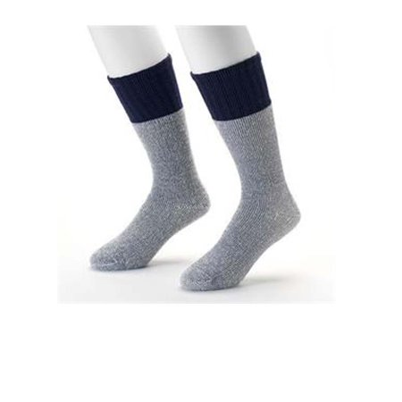 Croft & Barrow Acrylic Blend Boot Socks Cold Weather Comfort 2 Pair (Best Clothes For Humid Weather)