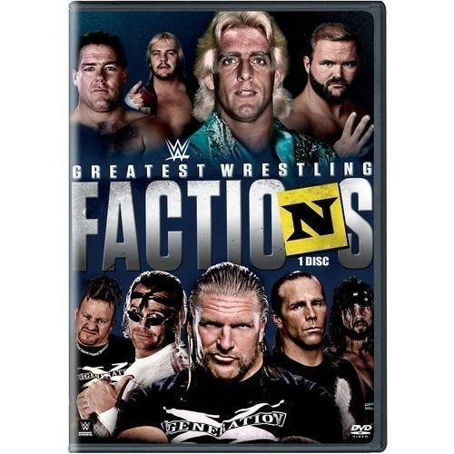 WWE Presents Greatest Wrestling Factions (DVD) by WARNER HOME VIDEO