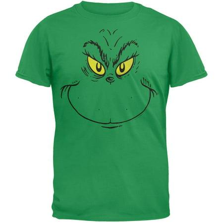 Dr. Seuss - Grinch Face T-Shirt](Dr Seuss Shirt Ideas)