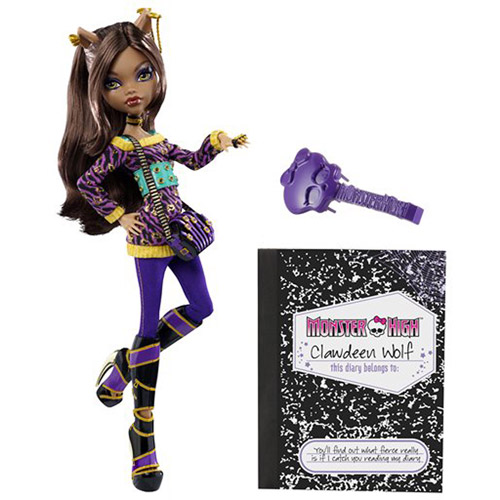 Monster Cable Clawdeen Wolf Doll