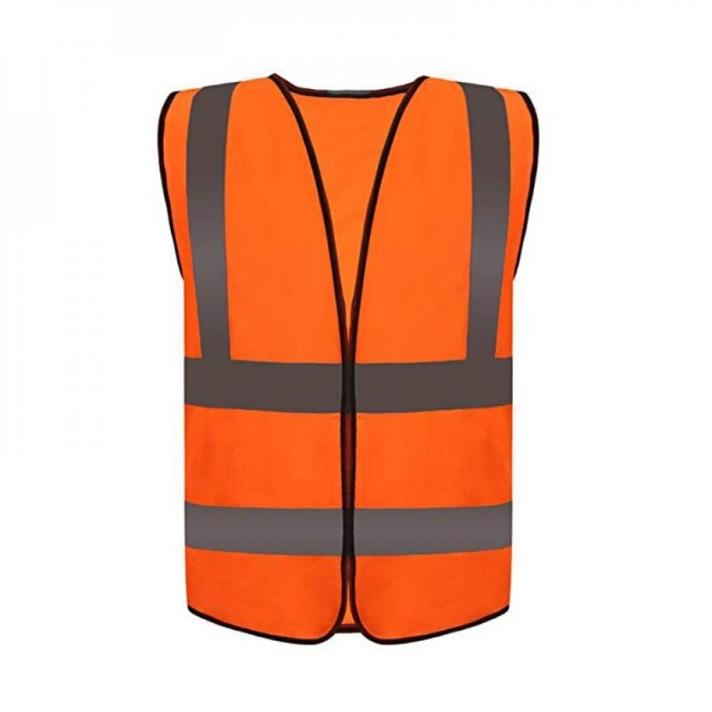 Details about  /Construction Reflective vest Cycling 1pc Safety Protective Fluorescent