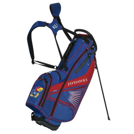 Team Effort Kansas Jayhawks Gridiron Iii Stand Golf Bag