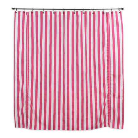 Brite Ideas Living Canopy Candy Cotton Shower Curtain