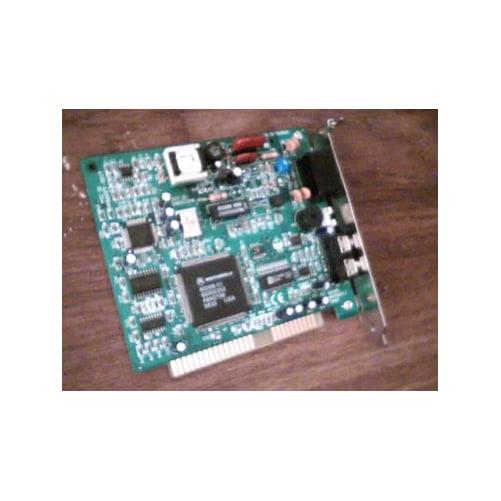 Refurbished-Motorola Win5601 / 5602Data/Fax/Voice modem with MicSpeaker jacks. No documentation or drivers.