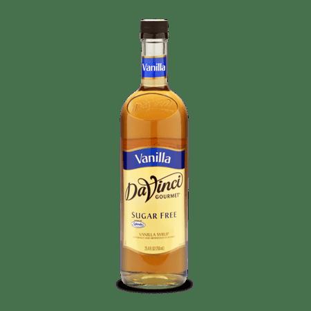 DaVinci Gourmet Sugar Free Syrup, Vanilla, 750ml ()