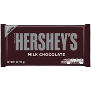 Hershey's Giant Milk Chocolate Candy Bar, 7 Oz