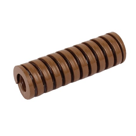 16mm OD 50mm Long Heavy Load Coil Stamping Compression Mold Die Spring Brown