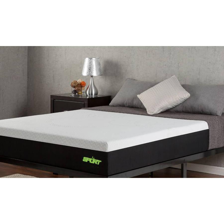 "Sleep Revolution 10"" Sport Memory Foam Mattress with Celliant Sleep Technology"