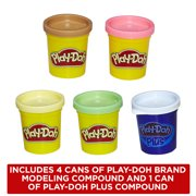 Play Doh Kitchen Creations Spinning Treats Mixer Food Set With 5