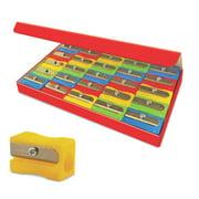 Eisen, TPG105, Sharpener Classroom Pack, 25 / Box, Assorted