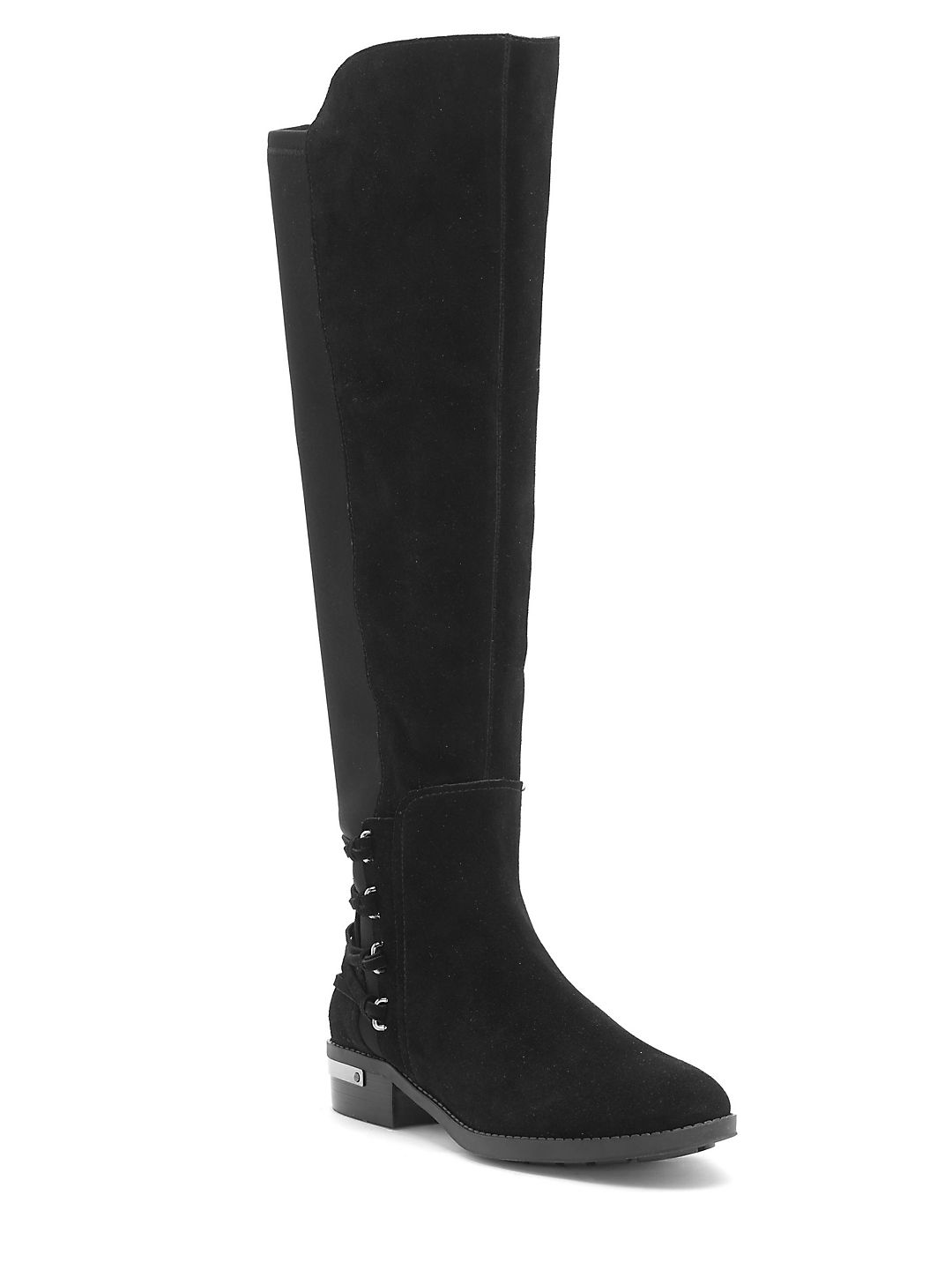 Paulomi Suede Knee-High Boots