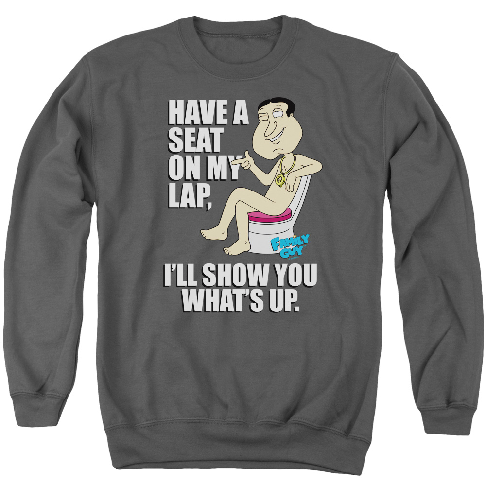 Family Guy Whats Up Mens Crewneck Sweatshirt