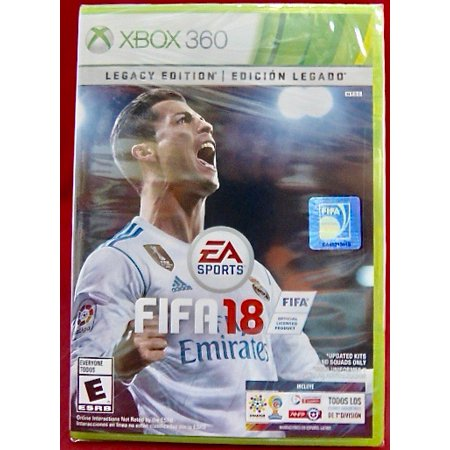 New Electronic Arts Video Game Fifa 18 Xbox 360 (Fifa Games For Xbox 360 Used)