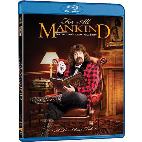 WWE: For All Mankind - The Life And Career Of Mick Foley (Blu-ray   Mr. Socko Puppet)) (Full Frame)