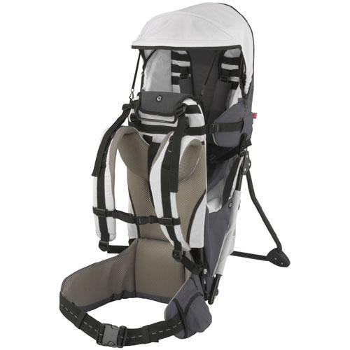 Kiddy 57-200-RT-028 - Kiddy Adventure Pack Back Carrier - Silver
