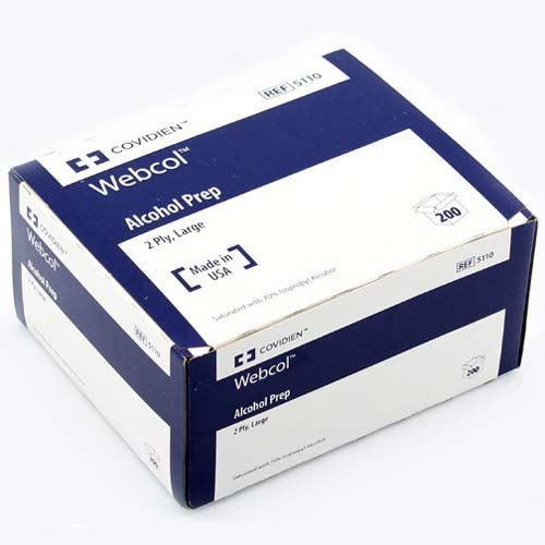 COVIDIEN Webcol Alcohol Prep Pads Model: 5110