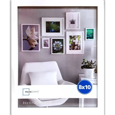 Mainstays 8x10 Linear Frame, White