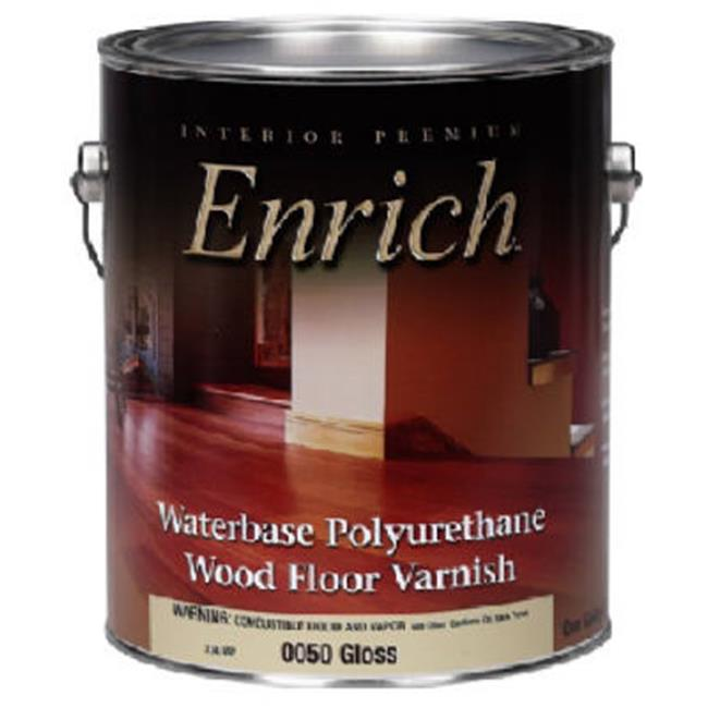 True Value Mfg Company 0050-GAL Enrich Gloss Water Base Varnish and Floor Finish