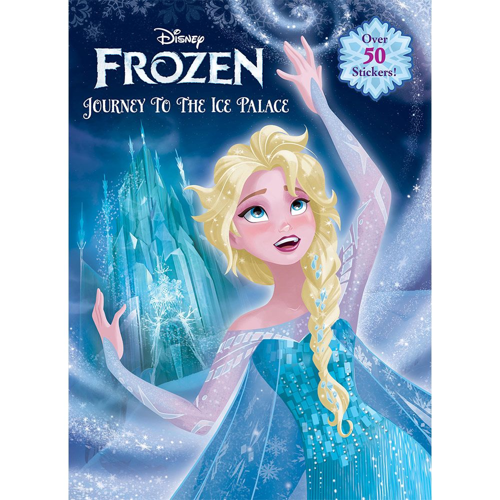 Frozen Journey To The Ice Palace Color And Activity Book