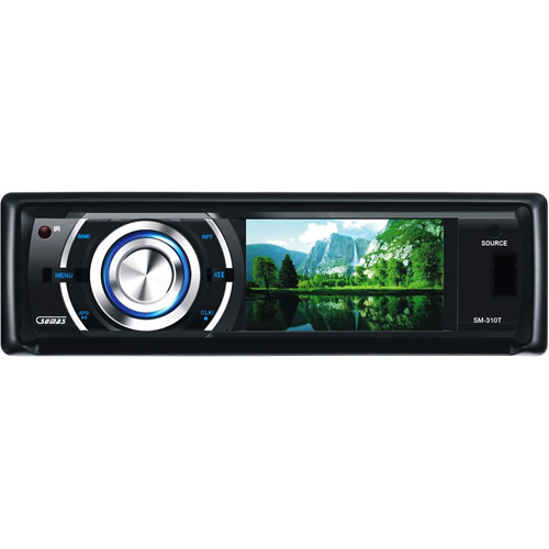 "Sumas Media SM-310T 3"" Digital Wide Touch Screen Car Stereo DVD Receiver"
