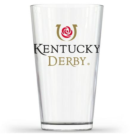 Kentucky Derby 16oz. Pub Glass - No Size