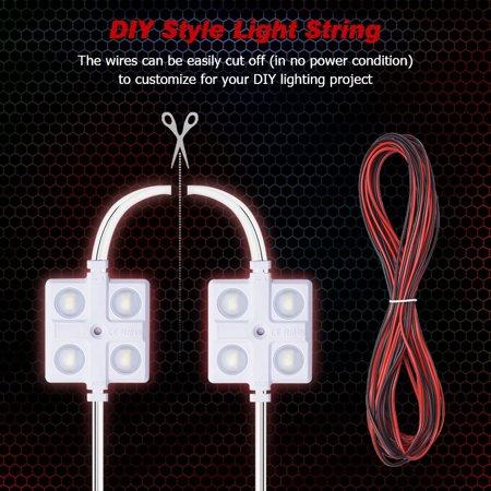 12V Cars Interior Dome Lights Kit 10 LED Modules for RV Trailer Lorries - image 1 of 7