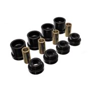 Energy Suspension 95-98 Nissan 240SX (S14) Black Rear Subframe Insert Set (Must reuse all metal part