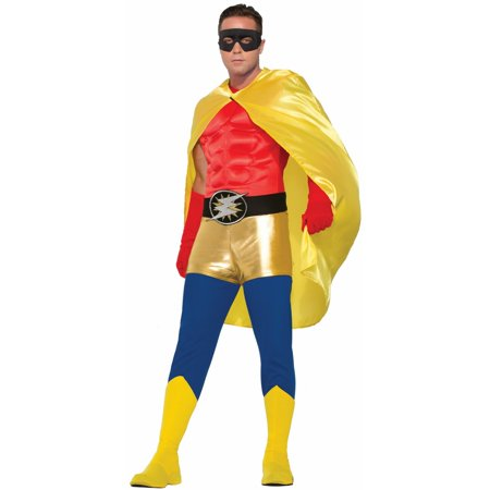 Yellow Adult Cape Halloween Costume Accessory - Halloween Costumes Vampire Cape