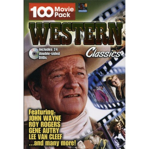 Western Classics 100 Movie Pack: Abilene Town / American Empire / Angel And The Badman / Any Gun Can Play / Apache Blood / ...