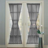 No. 918 Emily Sheer Voile Door Curtain Panel