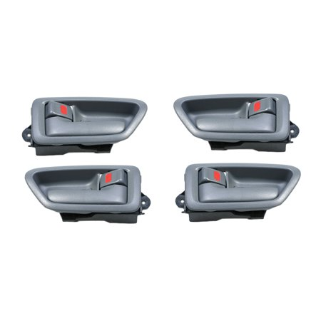 For 97-01 Toyota Camry Gray Interior Inner Inside Door Handle 4PCS 97 98 99 00 01 DH47