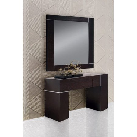 Orren Ellis Clower Wall Console Table And Mirror Set