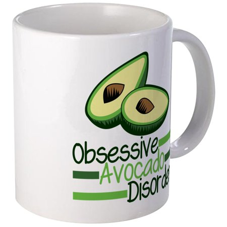 CafePress - Cute Avocado Mug - Unique Coffee Mug, Coffee Cup CafePress (Cute Cups)