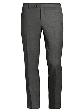 19557f309 Product Image The Mason Fit Stretch Sharkskin Dress Pants