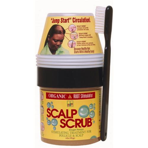 Organic Root Stimulator Scalp Scrub, 6 oz