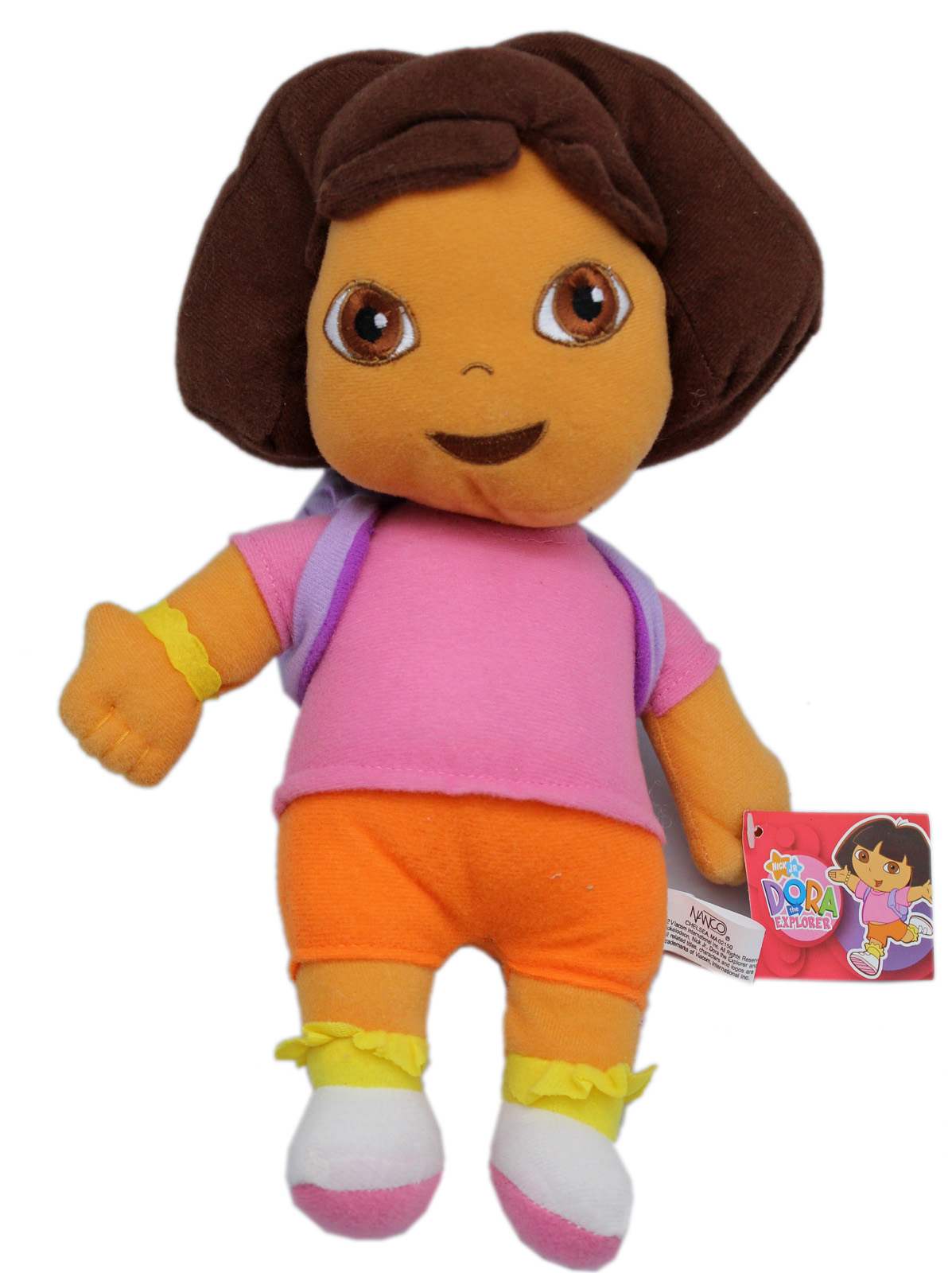 Nick Jr's Dora the Explorer Small Size Dora Plush Toy (11in) by