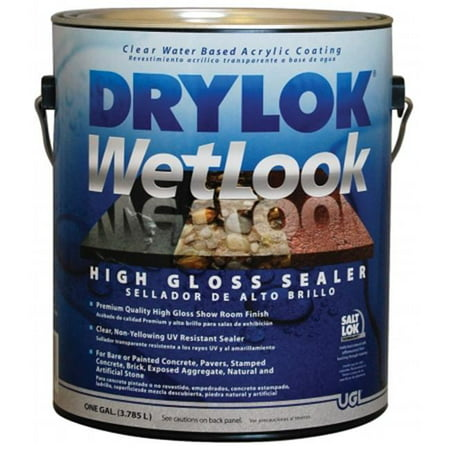 United Gilsonite 1 Gallon Drylok Wet Look High Gloss Sealer  28913 - Pack of 2