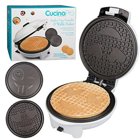 Emoji Waffler Amp Pancake Maker W Interchangeable Plates