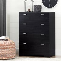 South Shore Reevo 4-Drawer Dresser, Multiple Finishes