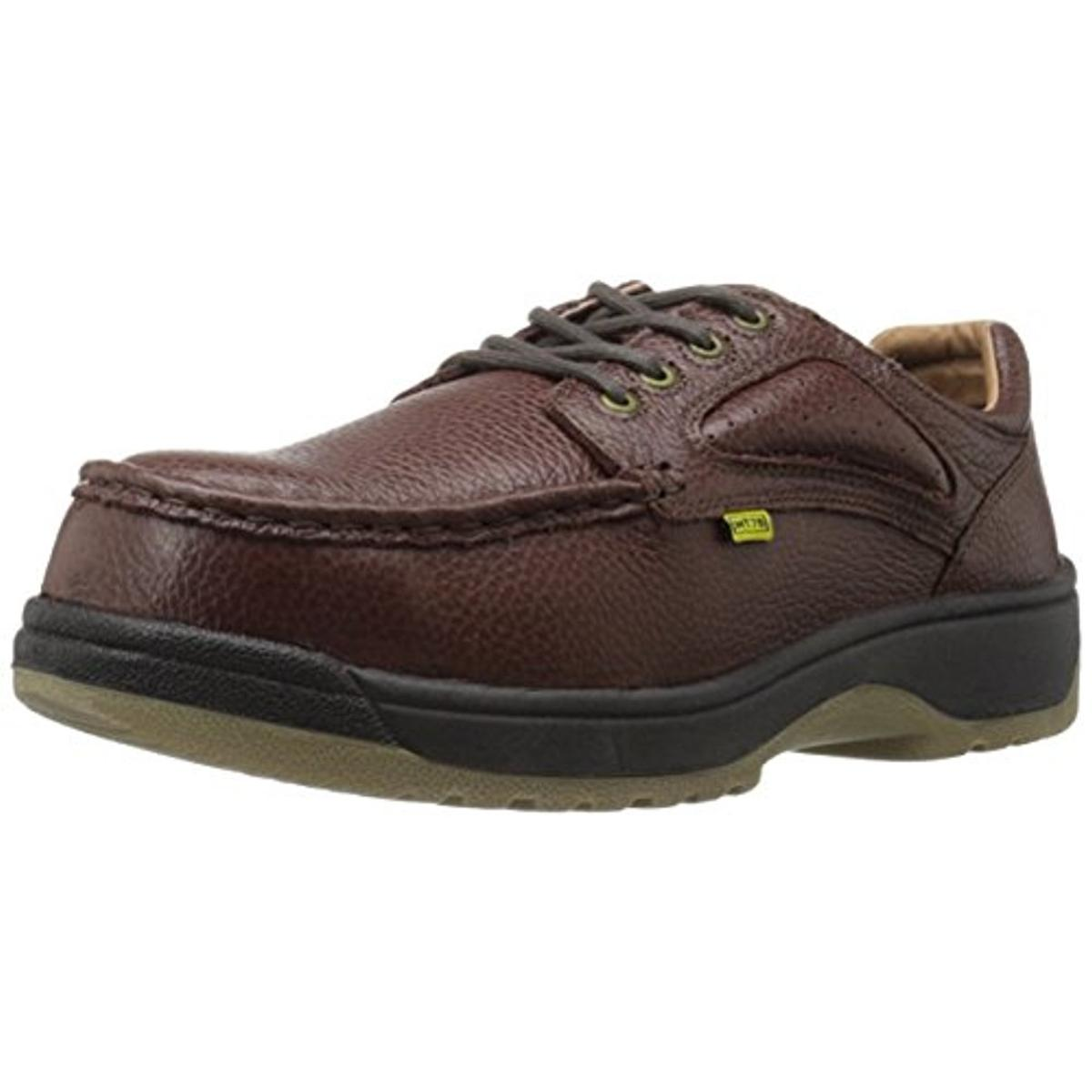 Florsheim Mens Leather Composite Toe Work Shoes by Florsheim