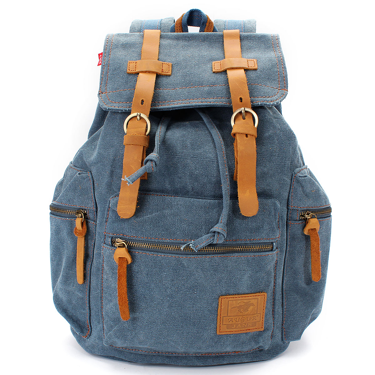 Retro Men Women Travel Canvas Backpack Rucksack Satchel Hiking Sport School Bag by
