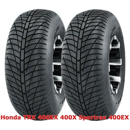 ((2) Honda TRX 400EX 400X Sportrax 400EX Rear 20x10-9 20x10x9 Hi-Speed ATV Tires)