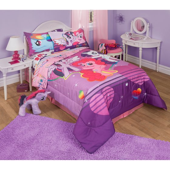my little pony twin full bedding comforter. Black Bedroom Furniture Sets. Home Design Ideas