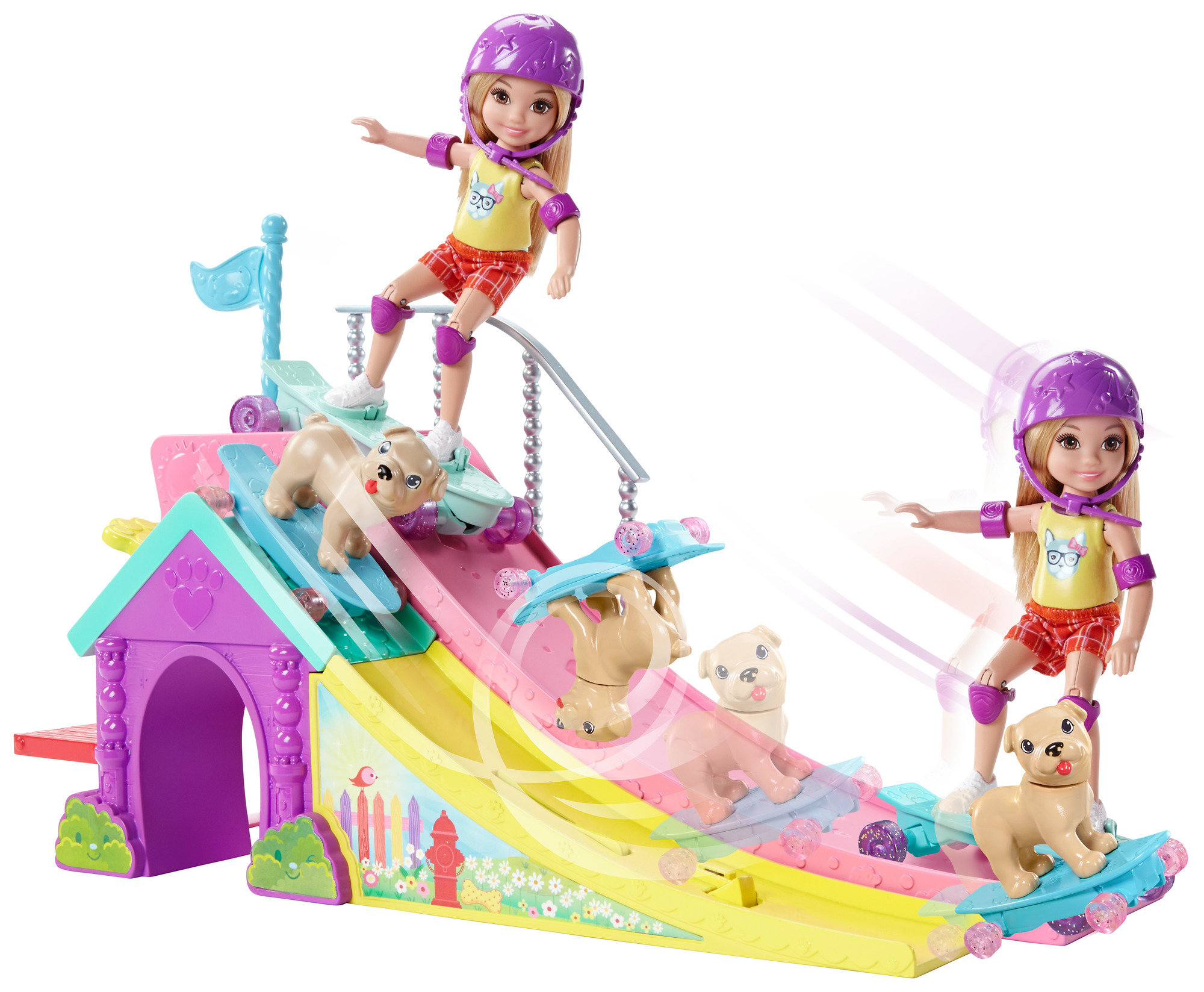 Barbie Club Chelsea Skatepark by Mattel