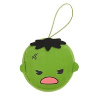 Marvel Kawaii Art Collection Hulk Face Plush Keychain